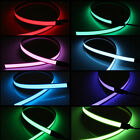 60cm/1M LED Flash Flexible Neon Light Lamp Glow EL Strip Tube Wire Rope Glow New