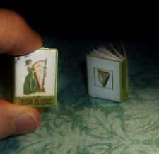IRISH MUSIC Dollhouse Miniature Book 1:12 Scale, The History of and 13 Songs!
