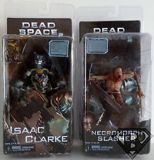 "ISAAC CLARKE & NECROMORPH SLASHER Dead Space 2 Video Game 7"" Figures Neca 2011"