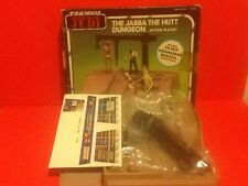 VIntage Star Wars Jabba The Hutt Dungeon Play Set - Last 17 - POTF 1984