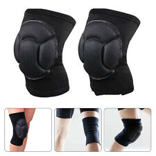Black Sport Kneepads Protective Carpenter Construction for Skiing Soccer Cycling