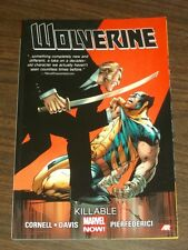 Wolverine Killable Vol 2 by Paul Cornell (Paperback, 2014)  9780785183976