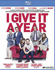 New! I Give It a Year (Blu-ray Disc, 2013)
