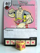 Dice Masters - #023 Krang Technodrome Commander - Teenage Mutant Ninja Turtles