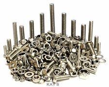 BULK PACK A2 STAINLESS STEEL BUTTON HEAD ALLEN BOLTS, NUTS, WASHERS M5, M6, M8