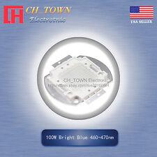 1Pcs 100W Watt High Power Blue 460-470nm SMD LED Blub Lamp Plant Chip