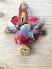 Qualità hand-crafted PIUMA SHOOTING PIN / brooch.country Wear / Outdoor / Cappelli
