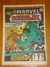 MIGHTY WORLD OF MARVEL #44 1973 AUGUST 4 BRITISH WEEKLY