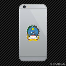 Angolan Emblem Cell Phone Sticker Mobile Angola flag AGO AO