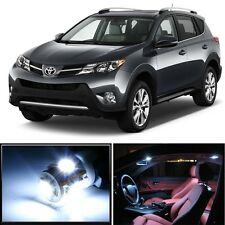 10 x Premium Xenon White LED Lights Interior Package Kit for Toyota RAV4