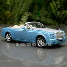 DIECAST METAL 1:32 MODEL CAR TOY SOUND LIGHT PULL BACK ROLLS ROYCE PHANTOM COUPE