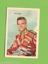 #D160. 1958-64  ATLANTIC PETROLEUM FILM STARS CARD #4  KEITH ANDES