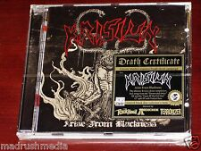 Krisiun: Arise From Blackness - Limited Edition CD 2012 Black Disc Germany NEW