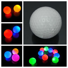 White Fluorescence Light-up Flashing Night light Glowing Golf Ball UK