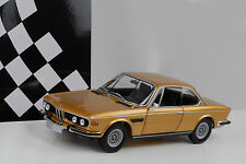 1972 BMW 3.0 CSI Coupe (E9) gold 1:18 Minichamps 504 pcs Diecast