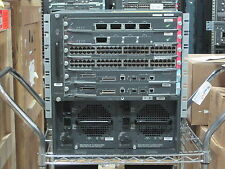 CISCO WS-C6506-E WS-SUP720-3BXL 2X WS-X6704-10GE WE CAN CONFIGURE 4 U 5 YEAR WTY