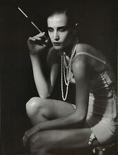 Peter Lindbergh Limited Edition Photo 33x44cm Kit Cat Club Diana Dondoe B&W 20er