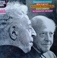 RACHMANINOFF / PIANO CONCERTO NO. 2 - RUBINSTEIN / ORMANDY - RCA LP - QUAD - '73