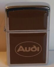 zippo lighter AUDI New in Box Vintage Mint 34 Years Old. Very Rare 1982