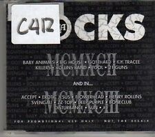 (CL761) RCA Rocks, 1992/93 sampler, 13 tracks various artists - 1992 DJ CD