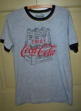 Vintage look Coc Cola 6 Pack Bottles T Shirt Size M