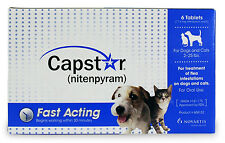 Novartis Capstar Blue for Small Dogs & Cats under 25 pounds 6pk