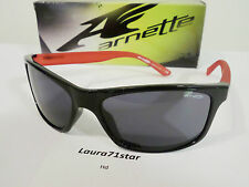 ARNETTE 4192 PIPE Black Red Sport Occhiali Sole Sunglasses Original New