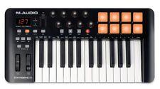 M-Audio Oxygen 25 MKIV 8-Pads 25-Keys USB MIDI Keyboard w/ Drum Pad Controller