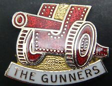 ARSENAL Vintage club crest type badge Maker SQUIRE London Brooch pin 26mm x 21mm