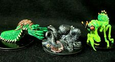 Dungeons & Dragons Miniatures Lot -  Wicked & Creepy Beasts !!