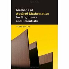 Methods Applied Mathematics for Engineers Scientists . 9781107004122 Cond=VG:USD