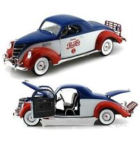 1:18 AUTOWORLD /ERTL 1937 Lincoln Zephyr Coupe Pepsi Cola