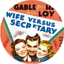 Wife vs. Secretary DVD Clark Gable Jean Harlow Myrna Loy Rare1936