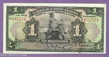 [AN] Bolivia 1 Boliviano 1911 P102 Hand Signed UNC