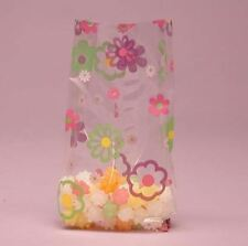 Flower Power Cello Bags, Pack of 25, Easter FREE SHIP-BAP-12-25