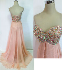 RIVA DESIGNS R9718 Blush $398 Formal Prom Ball Gown 12