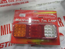 LED MULTIFUNCTIONAL LARGE TAIL LAMP, REAR TAIL LIGHT - TRAILER/CAR/VAN/CARAVAN