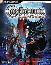 Castlevania: The Order of Ecclesia Official Strategy Guide (Official-ExLibrary