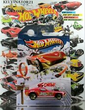 Hot Wheels 2013 Holiday Hot Rods Rodger Dodger RED,GOLD 5SP,GOLD CHROME BASE,US