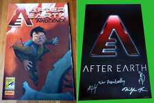 AFTER EARTH sdcc 2012 Exclusive Signed Movie Poster PETER SUSCHITZKY BENI LOBEL