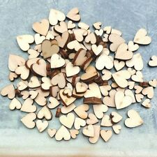 Decoration Crafts Accessories Wooden Love Heart Wedding Decor Table Scatter