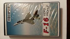 VHS Aereo F16 General Dynamics Fighting Falcon profile video pilot in tedesco