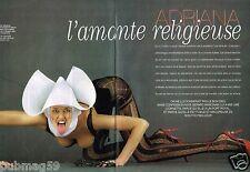 Coupure de Presse Clipping 2002 (6 pages) Adriana Karembeu