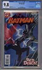 BATMAN #635 CGC 9.8 WHITE PAGES 1ST JASON TODD RED HOOD