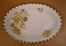 Royal Albert Golden Glory Gravy Boat Underplate / Made in England