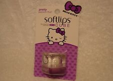 SoftLips CUBE HELLO KITTY***PRETTY***Passion Fruit Lip Protectant~~~NEW~~~SEALED