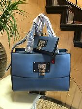 NWT Women's G by Guess Belfair Carryall Handbag With Slim Wallet Set