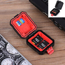Memory Card Storage Carrying Case Protecter Box Holder for SD CF XD U Waterproof