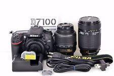 Excellent+++ Nikon D7100 24.1MP Digital SLR Camera and Excellent W zoom Lens