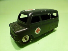 CORGI TOYS - BEDFORD AMBULANCE   - ARMY MILITARY   - CODE 3 RESTORED CONDITION